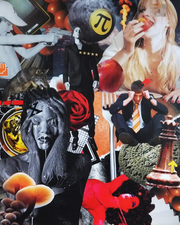 End of Days: Waiting for the Rapture   The Collage Art of Joel Lambeth
